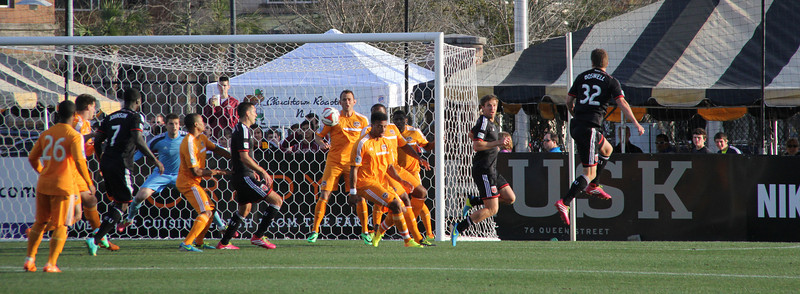 Carolina Challenge Cup  Houston vs DC United 2-22-14