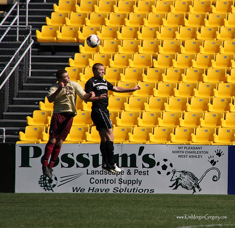 Charleston BATTERY vs College of Charleston Preseason 2014