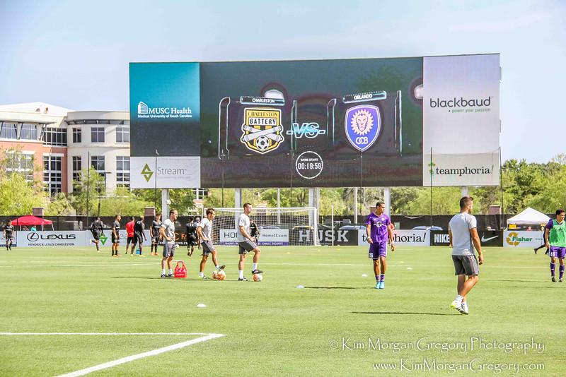 MUSC HEALTH STADIUM   3,000 square foot video board
