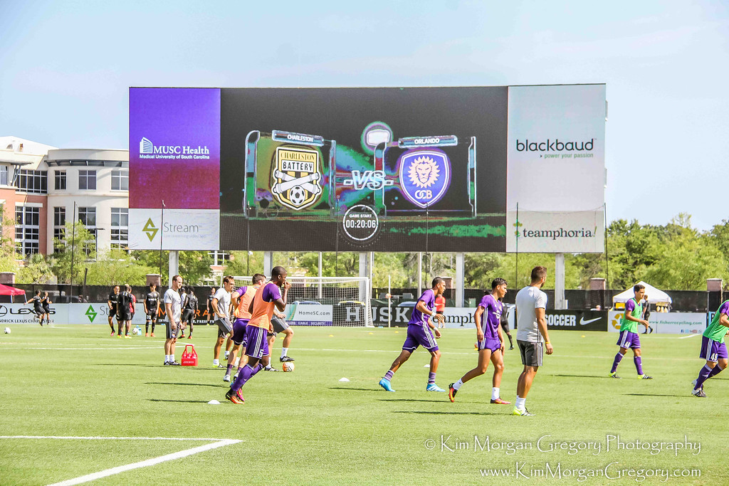 MUSC HEALTH STADIUM | 3,000 square foot video board