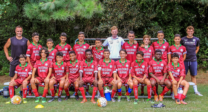 SV ZULTE WAREGEM U 15-17 YOUTH FUTBOL TEAM