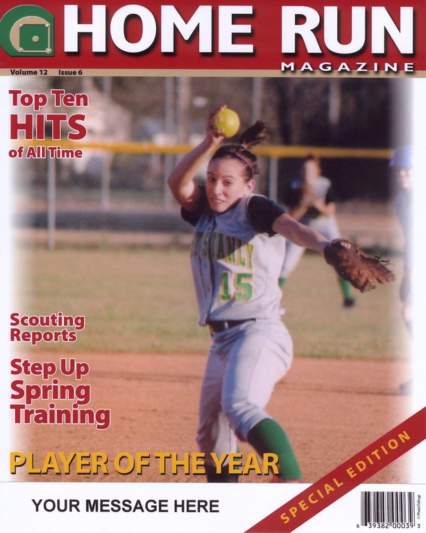 Magazine Covers available.  See Specialty Items gallery on homepage for samples.  Magazine Covers are $15 and 8x10