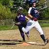 KRISTOPHER RADDER - BRATTLEBORO REFORMER<br /> Brattleboro softball team takes on Mount Anthony Union during a softball game at Brattleboro Union High School on Wednesday, May 9, 2018.