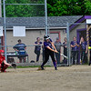 KRISTOPHER RADDER - BRATTLEBORO REFORMER<br /> Brattleboro takes and early lead against Rutland during a softball game at Brattleboro Union High School on Friday, May 25, 2018.