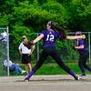 KRISTOPHER RADDER - BRATTLEBORO REFORMER<br /> Brattleboro's Hailey Derosia pitches against Rutland during a softball game at Brattleboro Union High School on Friday, May 25, 2018.