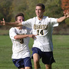 Wissahickon's Pat Magdalinski celebrates what was to be the game-winning goal.