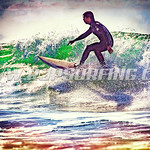 Surfing County Line Beach (01/23/2016)