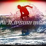 Surfing County Line Beach (01/23/2016)