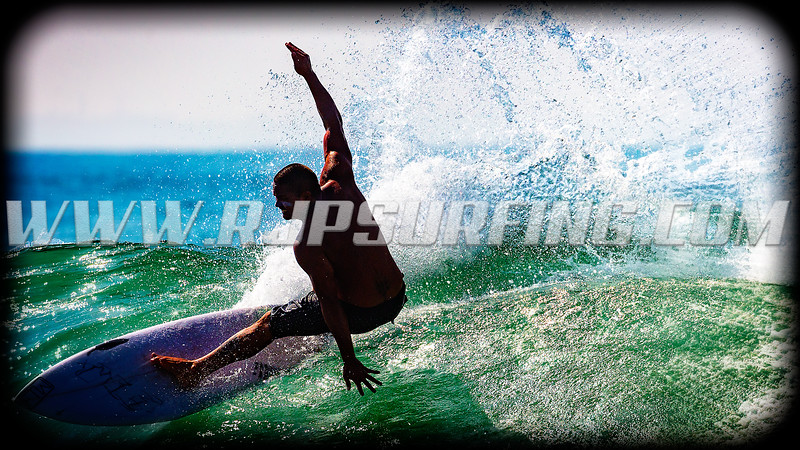 Surfing Topanga Beach (07/18/2016)