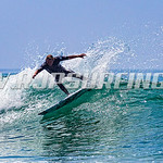 Kevin Zinger Surfing County Line (07/25/2016)