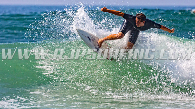 Surfing Topanga Beach (08/04/2016)