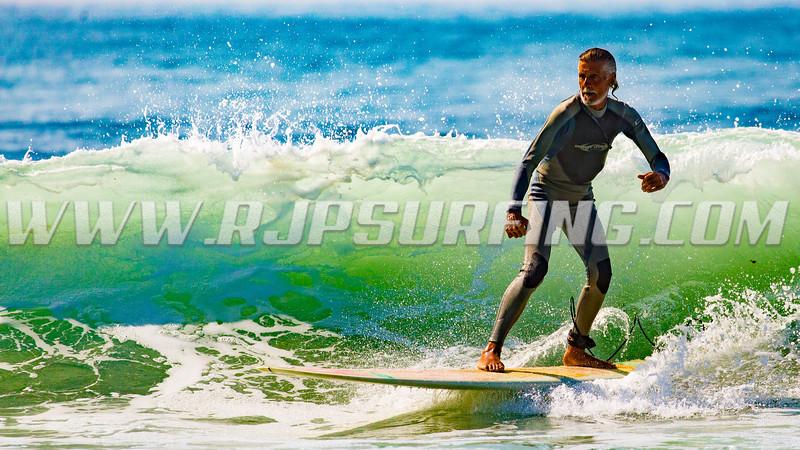 Surfing Topanga Beach 08/21/2016