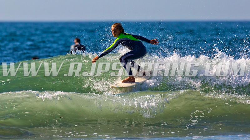 Surfing Topanga Beach (09/23/2016)