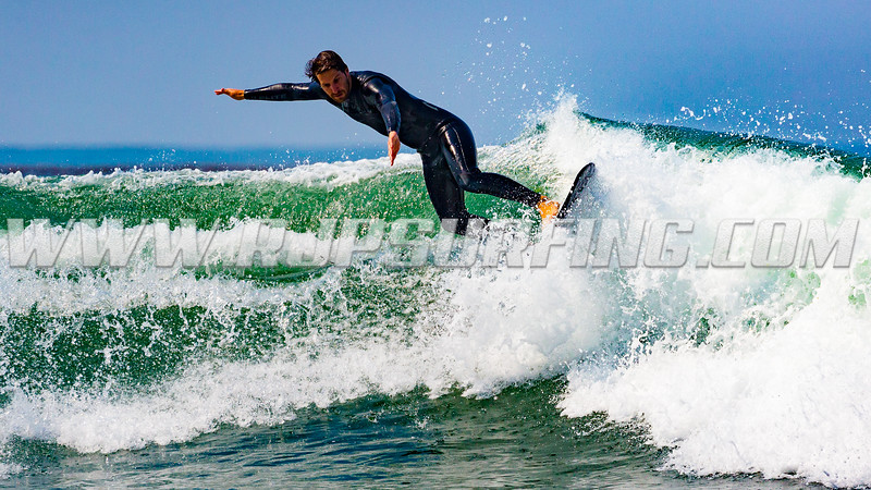Surfing County Line Beach (07/11/2017)