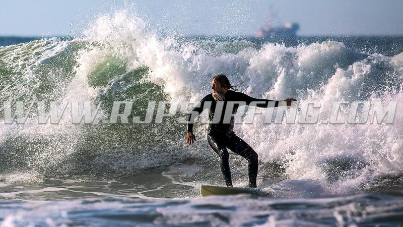Surfing C Street, Surfer's Point