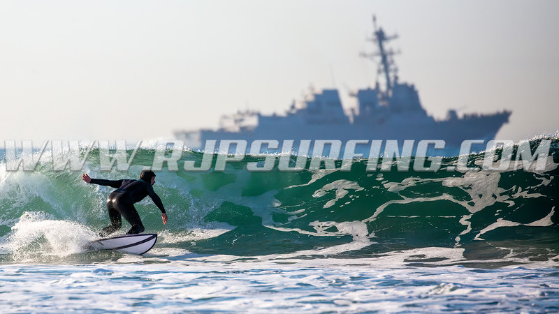 Hunter Moore and USS Sterett