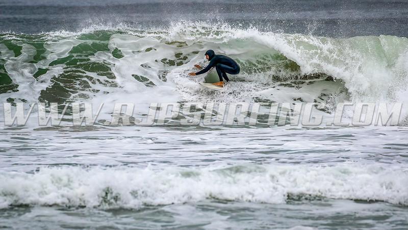 Surfing Manhattan Beach, 03/07/2021