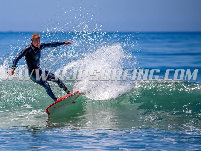 Surfing Zuma Beach, 04/29/2021