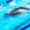 KRISTOPHER RADDER - BRATTLEBORO REFORMER<br /> Swimmers compete in a swim meet at the Brattleboro Living Memorial Park Pool on Tuesday, July 11, 2017.