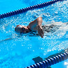 KRISTOPHER RADDER - BRATTLEBORO REFORMER<br /> Brattleboro's Sam Mirra swims the 500 Yard Freestyle during a swim meet at the Brattleboro Living Memorial Park Pool on Tuesday, July 11, 2017.