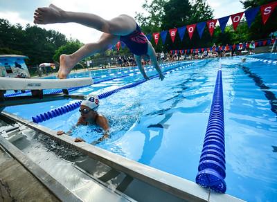 Swim meet at Brattleboro - 070318
