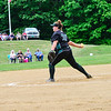 KRISTOPHER RADDER - BRATTLEBORO REFORMER<br /> Leland & Gray's softball team lost 10-0 to Fairfax during the Division 3 Quarterfinal at Leland & Gray Union Middle and High School on Thursday, May 31, 2018.
