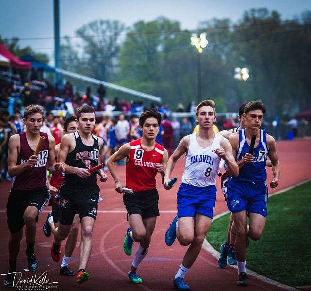 2019-0503 Caldwell HS @ WEHS Essex County Relays-9051