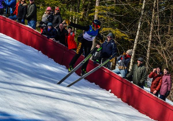 Trial run at Harris Hill Ski Jump - 021817