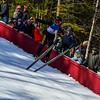 KRISTOPHER RADDER - BRATTLEBORO REFORMER<br /> Dennis Morgan soars in the air during a trial run at the Harris Hill Ski Jump in Brattleboro, Vt., on Saturday, Feb. 18, 2017.