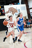 Wildcats co-captain, Maria Page drives the ball down the court; KELLY FLETCHER, REFORMER CORRESPONDENT