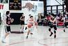 Izaak Park drives the ball towards the Wildcat's basket; KELLY FLETCHER, REFORMER CORRESPONDENT