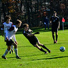 KRISTOPHER RADDER — BRATTLEBORO REFORMER<br /> Twin Valley beats Arlington 4-1 to win the Vermont Principals' Association Boys' Division 4 Soccer Championship that was held at Bellows Falls Union High School on Saturday, Nov. 2, 2019.