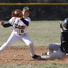 Upper Dublin's Ray Sitarski beats the throw to Wissahickon second baseman Kensuke Kushimoto.