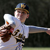 Wissahickon's Randy Frankenfield pitches against Upper Dublin.