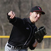 Upper Dublin's Dan Jacobson pitches against Wissahickon.
