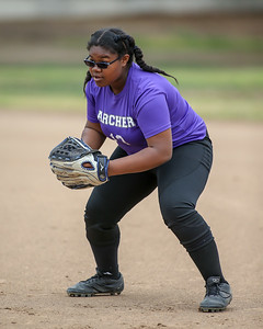 Archer vs Winward softball game on May 2, 2018