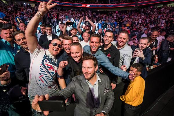 CHRIS PRATT @ UFC