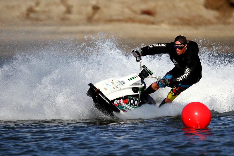 Jet Skiers at Fiesta Island San Diego Ca