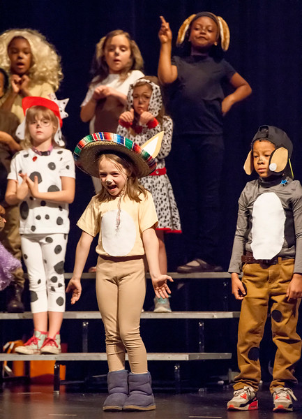 SPRING LOWER SCHOOL MUSICAL  2016