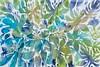"Breath of Fresh Air, tropical-Jardine, 40""x60"""