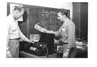 Bob Dial and Langston McEachern making history!