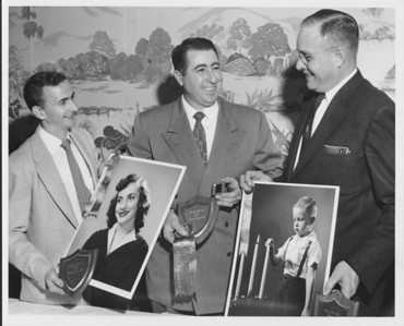 Hank Rush (right), Founding Member 1956