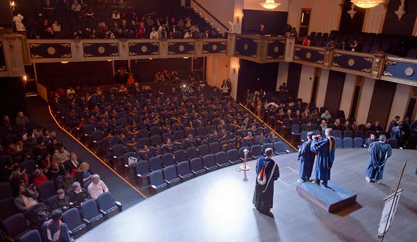 Trine Graduate Hooding Ceremony - Dec 2017