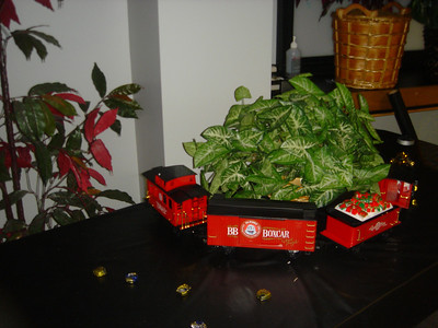 Check out the 'P-Kraft' Chocolate Train....