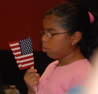 ...star-spangled banner yet wave O'er the land of the free and the home of the brave