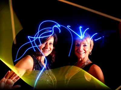 SPYGLASS 2011 lightpainting portraits