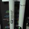 """Necklace sized glow sticks. The """"Supreme Glow"""" tube is what you purchased and it is unopened. The other is a tub that is not completely full, but it is mostly full. It came from the person from Agape, I think."""