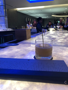 Gorgeous bar, and a nightcap to boot