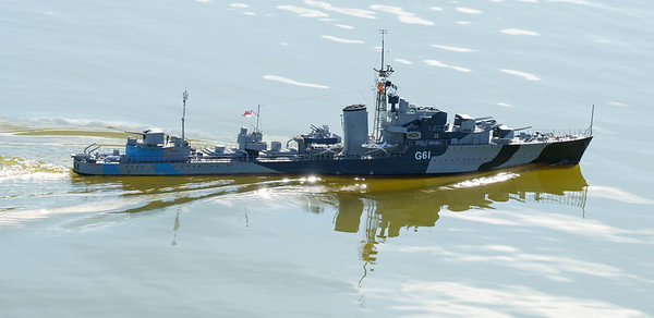 David McNair-Taylor, G61, HMS Javelin, J class destroyer, SRCMBC, Solent Radio Control Model Boat Club