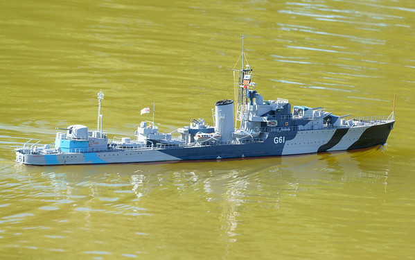 David McNair-Taylor, HMS Javelin, J-class destroyer, SRCMBC, Solent Radio Control Model Boat Club